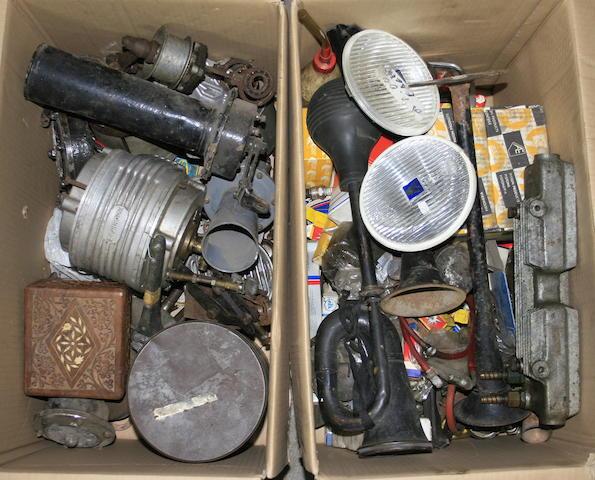 Assorted spares,