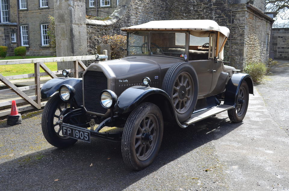 1927 Humber 14/40 Doctor's Coupé  Chassis no. 14475