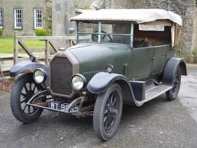 1925 Humber 12/25 Tourer  Chassis no. 10150