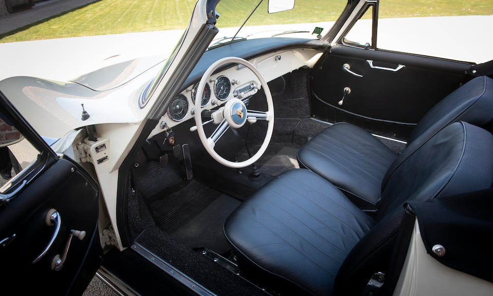 1 of only 5 Built,1958 Porsche 356 A T2 Carrera 1500 GS Cabriolet  Chassis no. 150484 Engine no. 90943