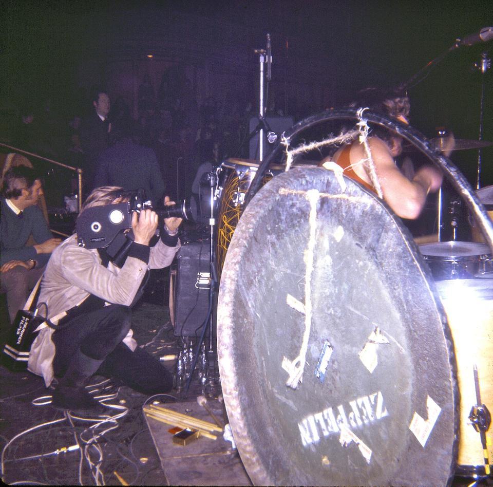 John Bonham / Led Zeppelin: a 36 inch Paiste symphonic gong used on tour,