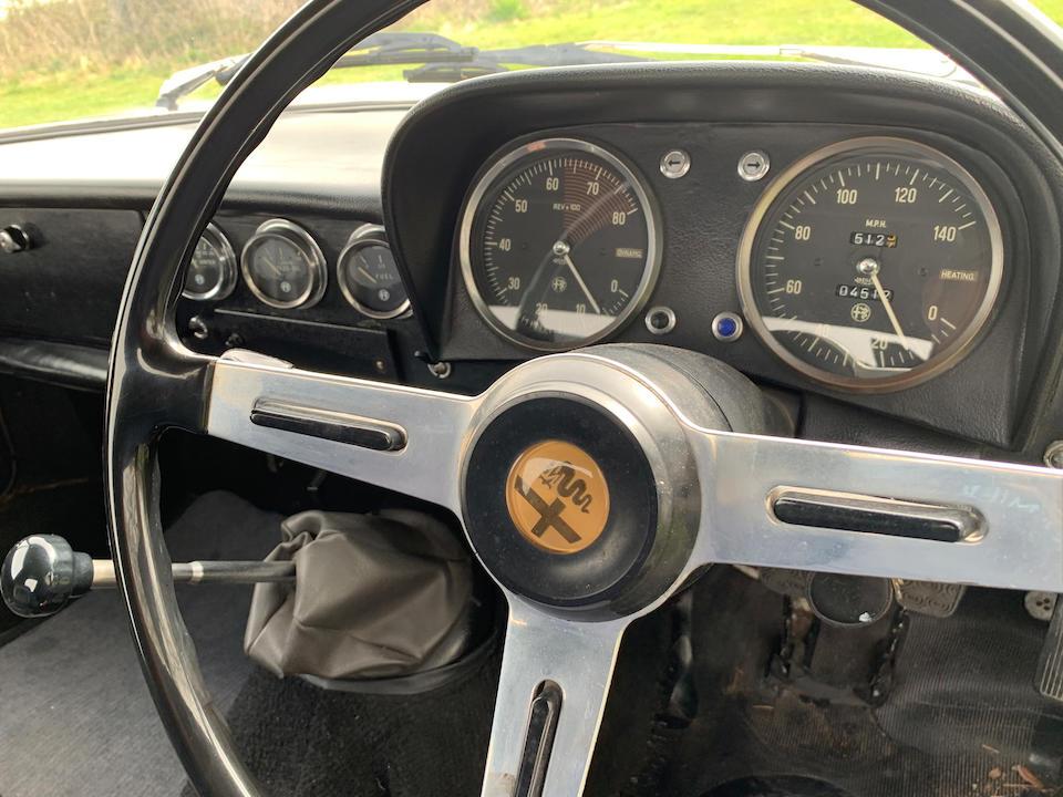 1967 Alfa Romeo Spider 1600 Duetto  Chassis no. AR710152