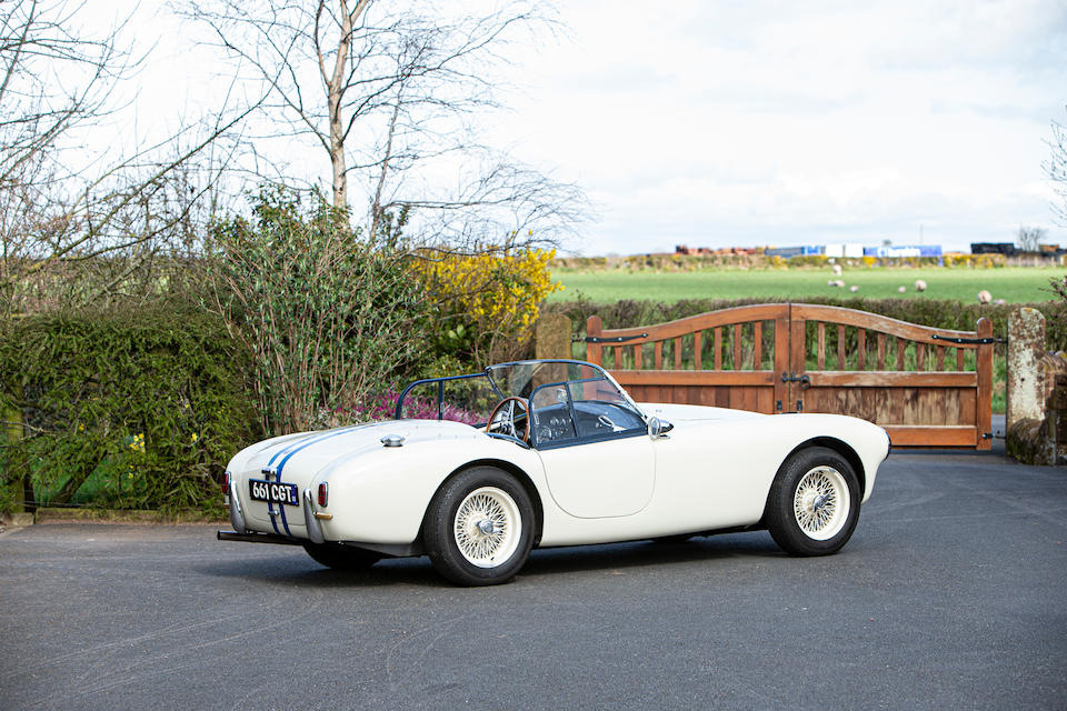 In present ownership since 1971, a rare LHD example,1961 AC Ace 2.6-Litre Roadster  Chassis no. RSX 5006