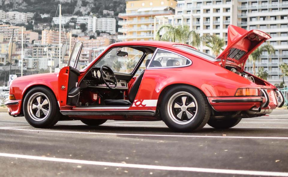 1973 Porsche 911 Carrera 2.7 RS Touring  Chassis no. 9113601025 Engine no. 6630994