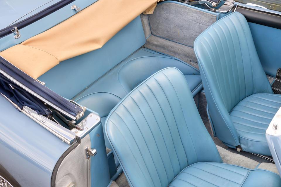 1958 Aston Martin DB Mark III DHC  Chassis no. AM300/3/1522 Engine no. DBA/1138