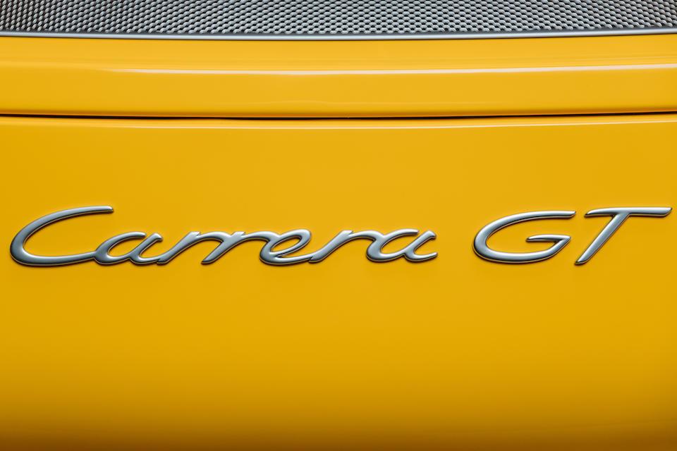 2005 Porsche Carrera GT  Chassis no. WP0ZZZ98Z5L000266