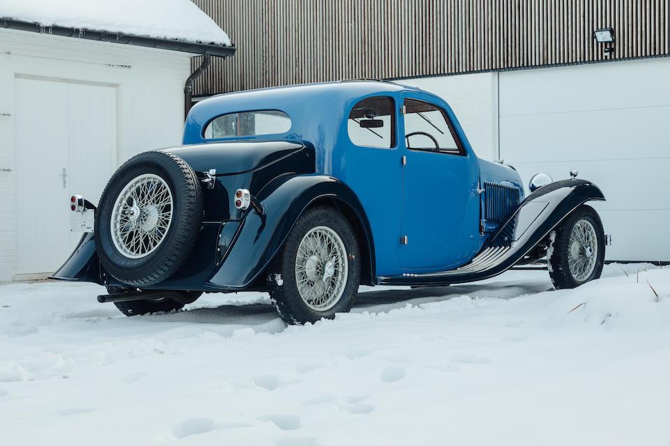 1934 Bugatti Type 57 Ventoux Coupé  Chassis no. 57119 Engine no. 34