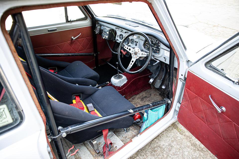 Ex-Pat Moss, Monte Carlo Rally,1958 Austin A40 Farina  Chassis no. AA2S62642
