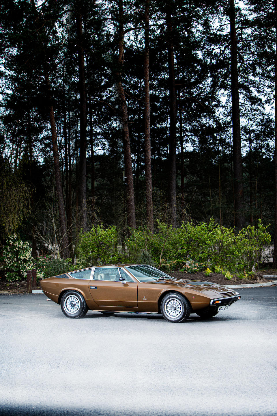 Restored to concours condition,1976 Maserati Khamsin Coupé  Chassis no. AM120-341