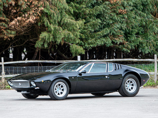 Restored to concours condition,1969 De Tomaso Mangusta Coupé  Chassis no. 8MA 0994