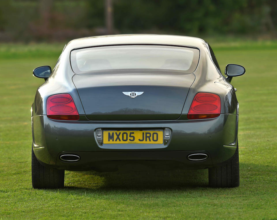 2005 Bentley Continental GT Coupé  Chassis no. SCBCE63W55C028676
