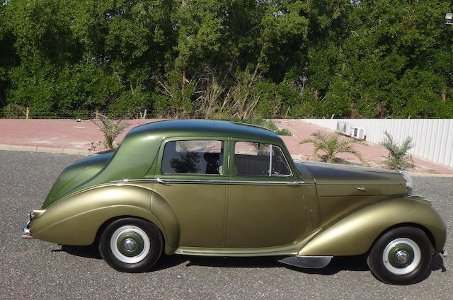 1954 Bentley R-Type 4½-Litre Saloon  Chassis no. B292YD