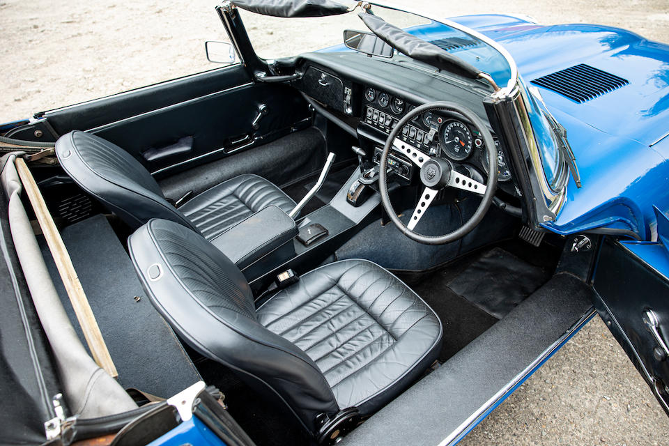 1974 Jaguar E-Type Series III V12 Roadster  Chassis no. 1S2658BW
