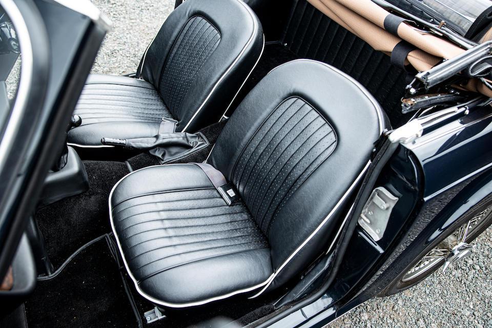 1968 Triumph TR5 Pi Overdrive Model  Chassis no. CP1543