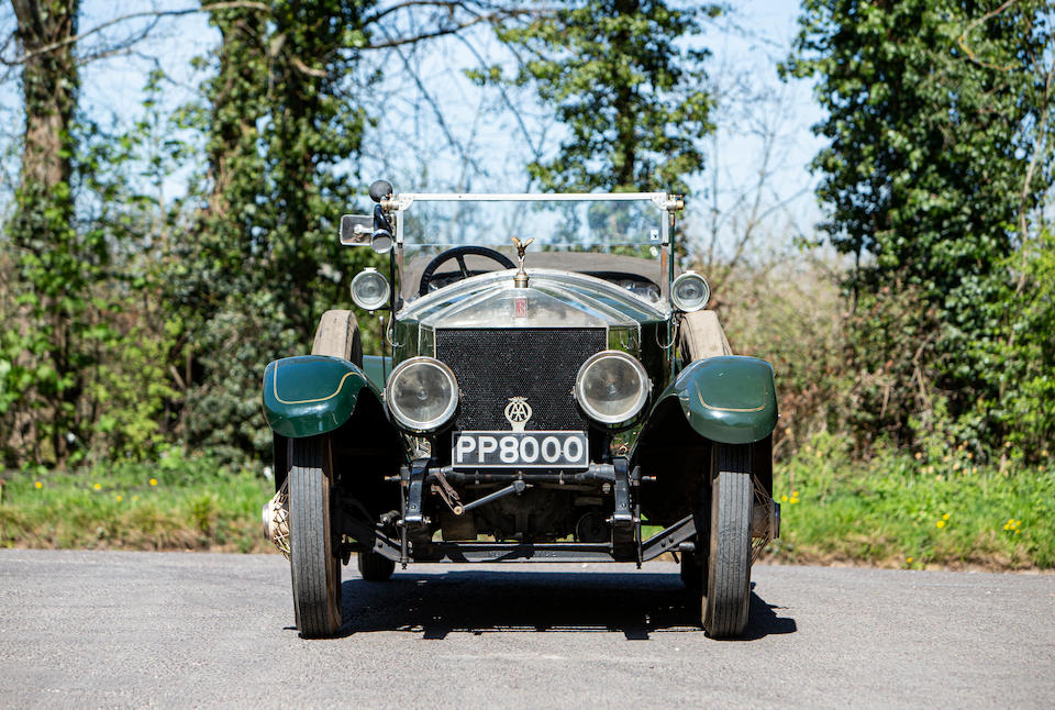 1920 Rolls-Royce 40/50hp Silver Ghost Tourer  Chassis no. 50PE