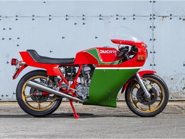 1979 Ducati 864cc Mike Hailwood Replica Frame no. 900017 Engine no. 089374