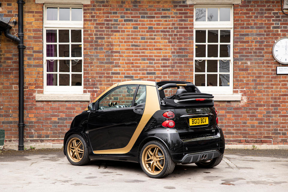2013 Smart Fortwo Brabus  Chassis no. WME4514332K697418