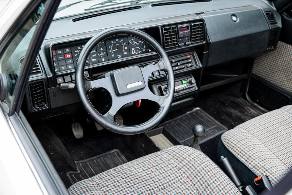1986 Fiat Ritmo Cabriolet 100S  Chassis no. MPATFSHAT104009