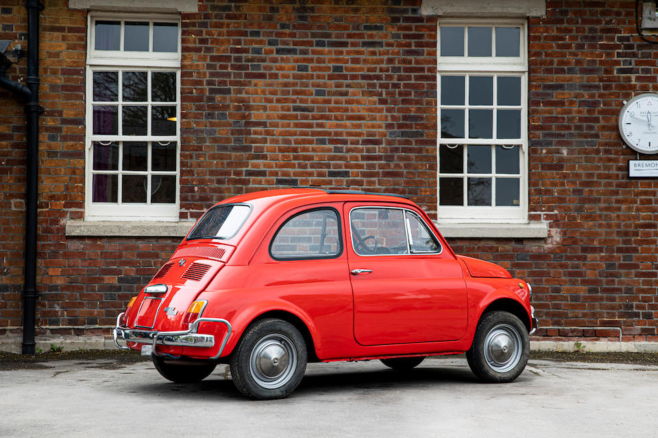 1969 Fiat 500L  Chassis no. 2302398