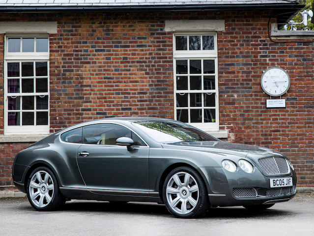 2005 Bentley Continental GT Coupé  Chassis no. SCBCE63W75C029537
