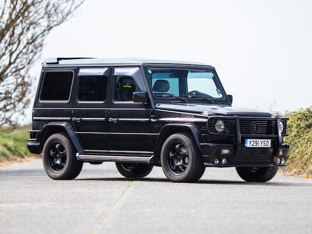 2001 Mercedes-Benz G500 Brabus 5.8  Chassis no. WDB4632481X124077