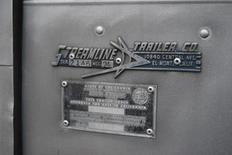 1959 Streamline 24' Duke Travel Trailer