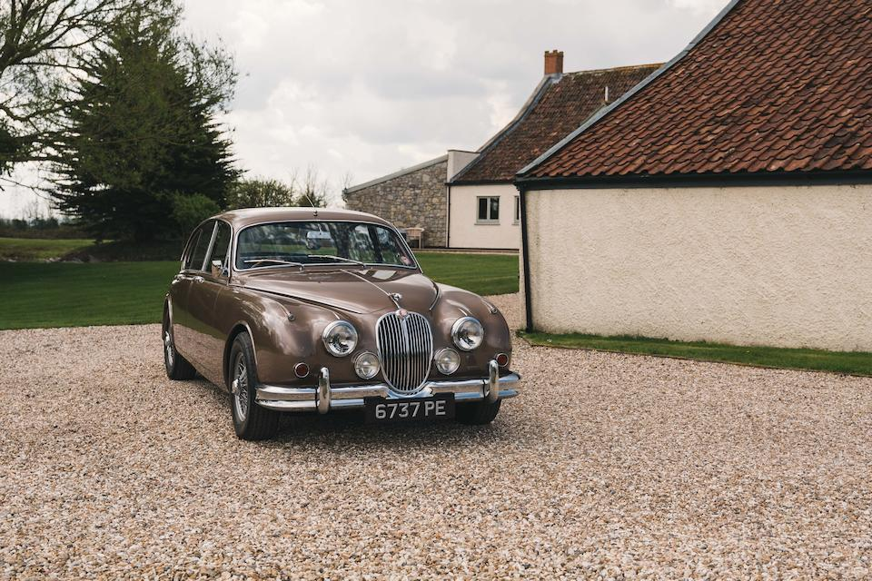 1961 Jaguar Mk2 Uprated to 3.8-Litre  Chassis no. 109702DN