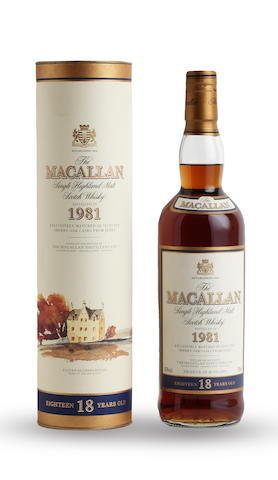 The Macallan-18 year old-1981