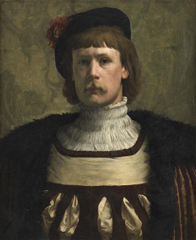 Henry Herbert La Thangue, RA (British, 1859-1929) A Nobleman