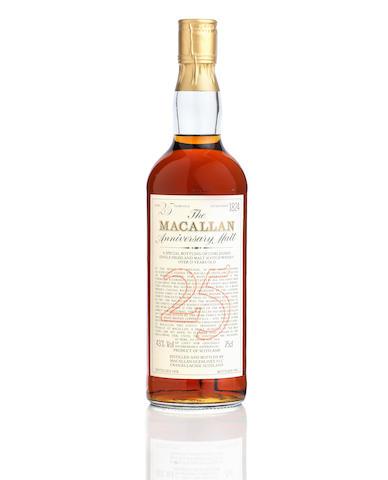 The Macallan Anniversary Malt-25 year old-1958