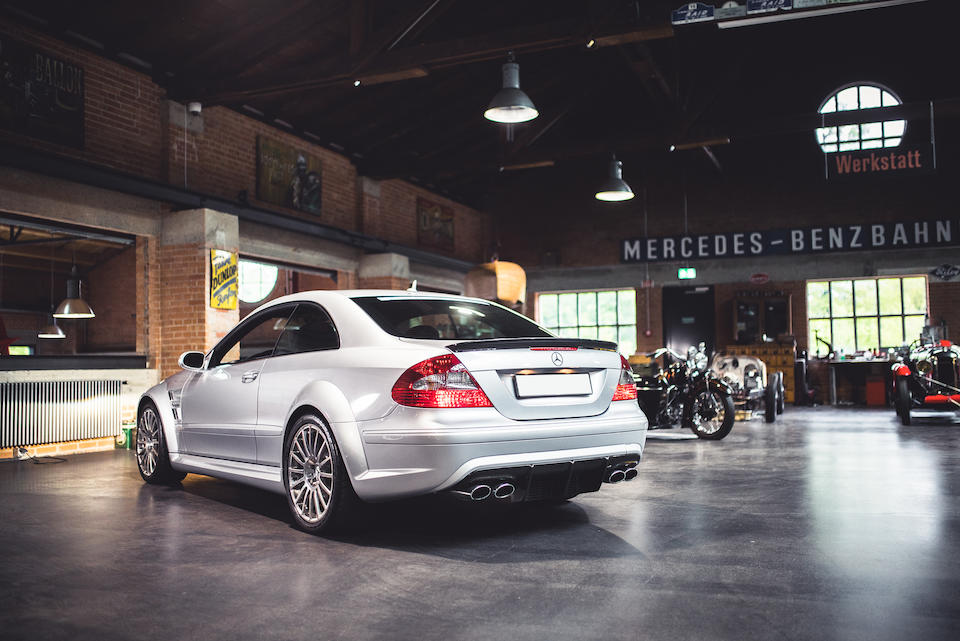 First owned by Roger Federer,2009 Mercedes-Benz  CLK 63 AMG Black Series Coupé  Chassis no. WDB2093771F241049
