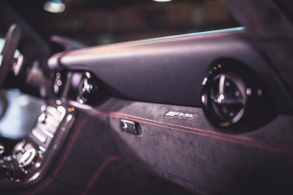 2014 Mercedes-Benz  SLS AMG 'Black Series'   Chassis no. WDDRJ7HA0EA010626