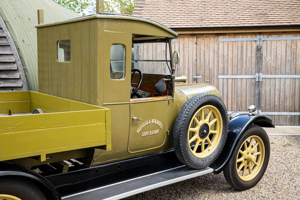 1926 Bean 14hp Commercial Pickup  Chassis no. B371534