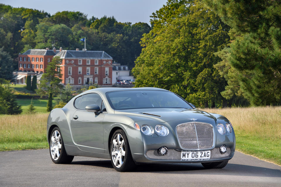 2006 Bentley Continental GT  Chassis no. SCBCE63W66C038781