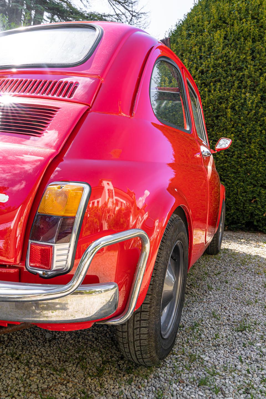 1969 FIAT 500L   Chassis no. 110 F25 172 82