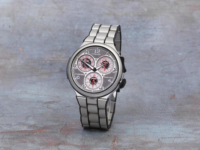 F.P. Journe. A fine aluminium manual wind bracelet watch  Centigraphe Souverain Sport, Ref: No.072-CTS, Circa 2012