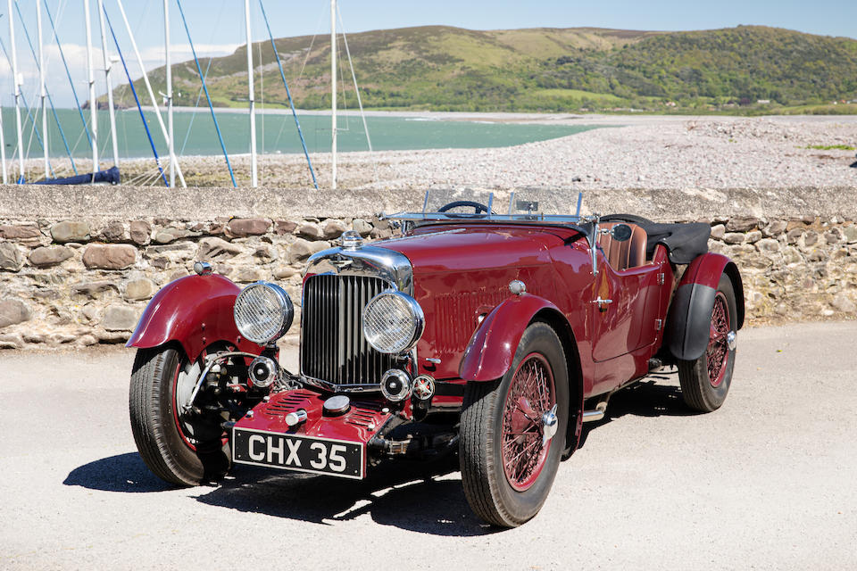 1935 Aston Martin 1½-Litre Mark II Short-Chassis Tourer  Chassis no. L4/528/S