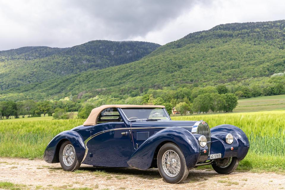 1939 Bugatti Type 57C 'Aravis' Cabriolet  Chassis no. 57815 Engine no. 57815-85C