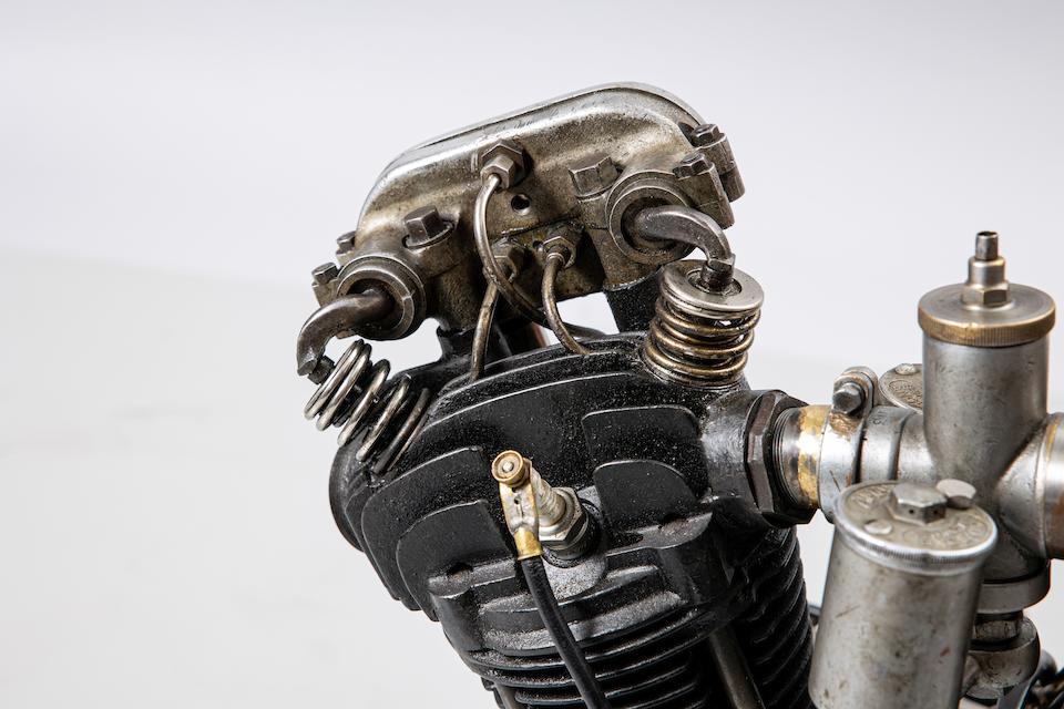 A 1948 JAP 8/80 JTOS racing engine
