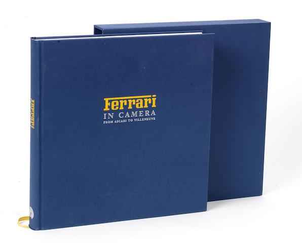 Geoffrey Goddard & Doug Nye: Ferrari in Camera; a limited edition title published by Palawan Press, 1995,
