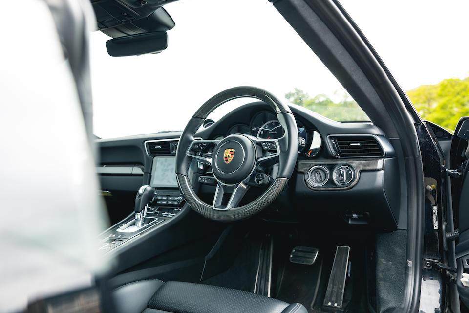 2017 Porsche 911 (Type 991.2) Turbo S Coupé  Chassis no. WP0ZZZ99ZJS151197