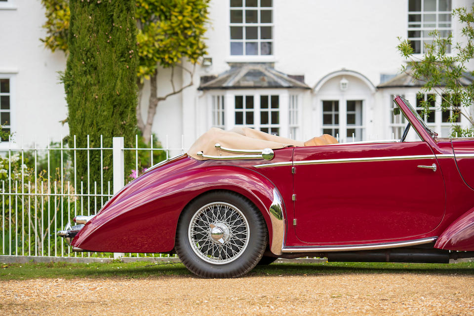 1948 Delahaye Type 135M Three-Position Drophead Coupé  Chassis no. 800843