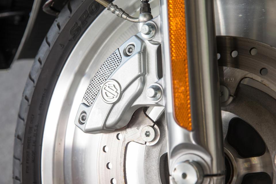 Owned by Formula 1 Driver Nick Heidfeld,2006 Harley-Davidson 1.131cc VRSCA V-Rod Frame no. 5HD1HAZ1X6X806852 Engine no. 209.272.430