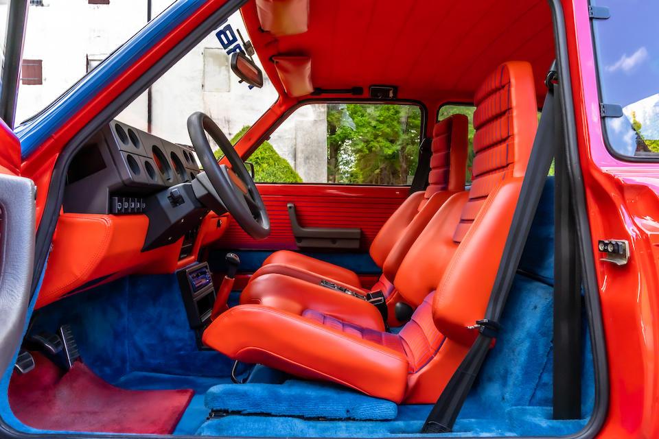 1983 Renault 5 Turbo  Chassis no. VF1822000C0001504