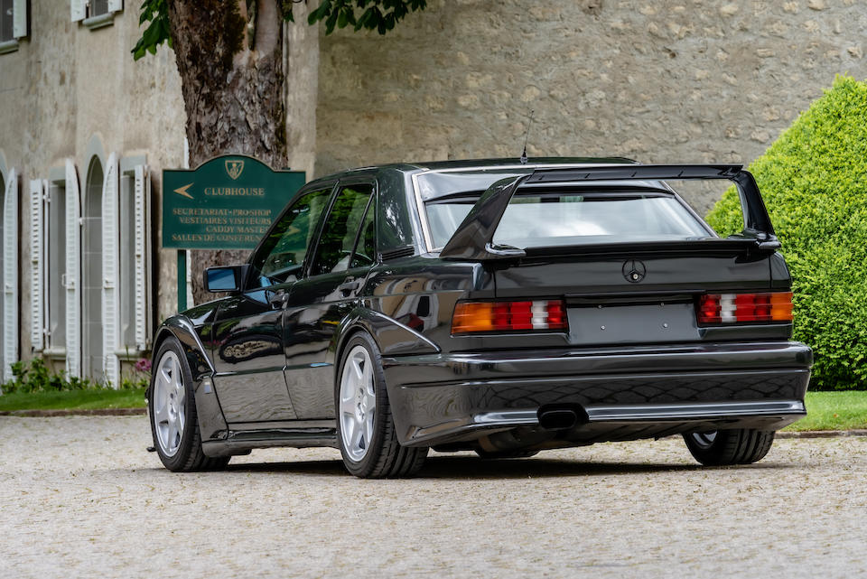 1990 Mercedes-Benz 190 E 2.5-16 Evolution II  Chassis no. WDB2010361F739485