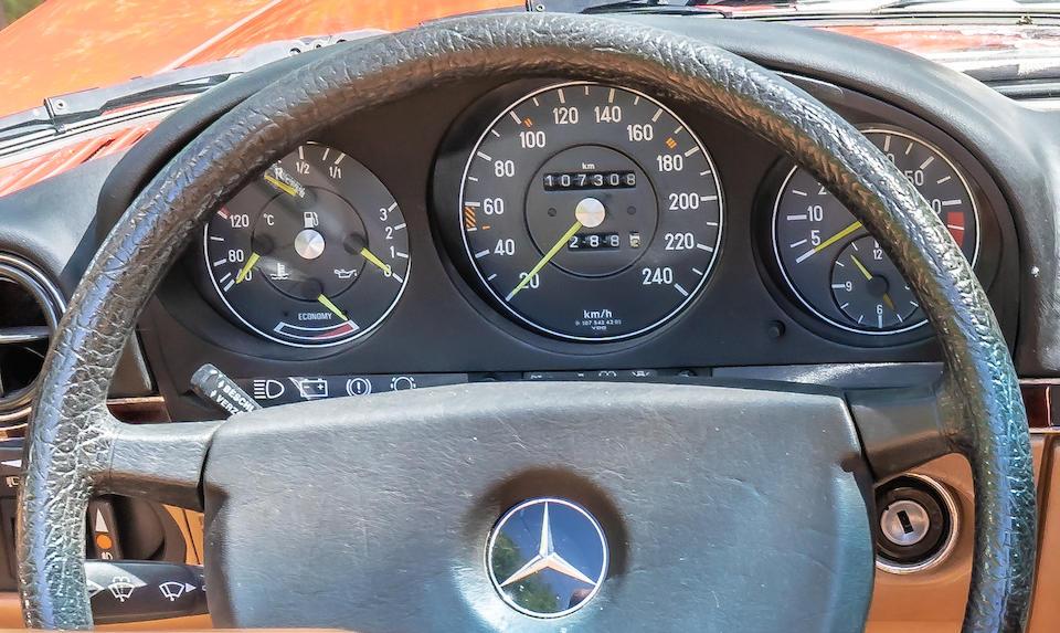 1985 Mercedes-Benz 300 SL Convertible  Chassis no. WDB1070411A36156