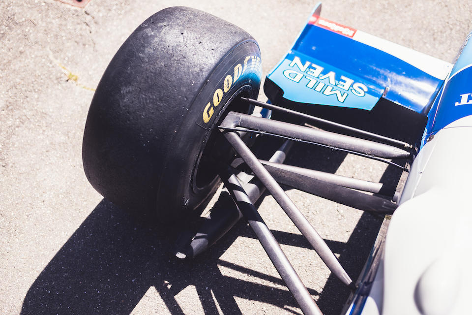 The Ex-Riccardo Patrese, Hungarian GP 2nd place,1993 Benetton-Ford B193B Formula 1 Racing Single-Seater  Chassis no. B193B-02