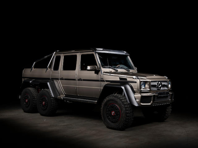 2014 Mercedes-Benz G63 AMG 6X6 Pickup  Chassis no. WDCYC7CFEX212055