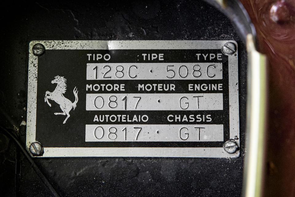 1958 Ferrari 250 GT Berlinetta  Chassis no. 0817GT