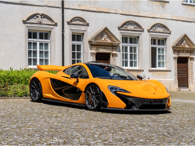 Number '180' of 375 produced,2014 McLaren P1  Chassis no. SBM12ABB6EW000180